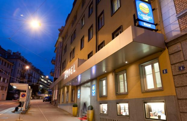 фотографии отеля Comfort Hotel Royal Zurich (ex. Comfort Inn Royal) изображение №3